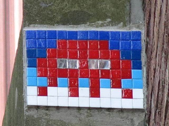 Ceramic tile public artwork, Low Bridge, NE1
