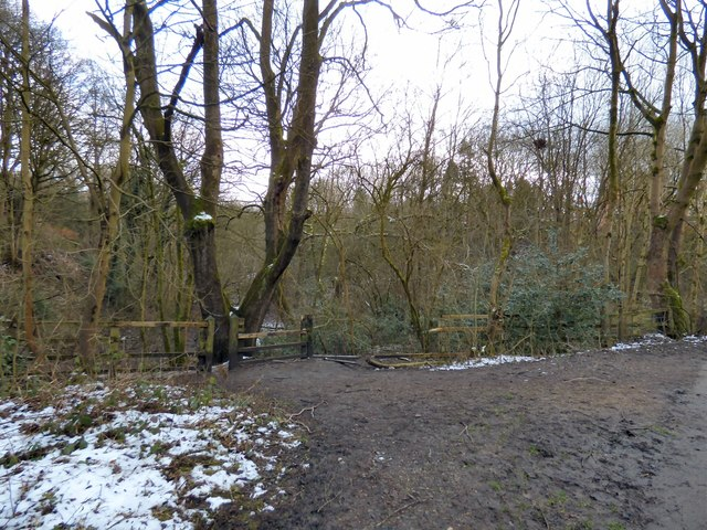 Entrance to Gower Hey Wood