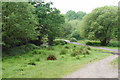 SP1096 : Path across Plants Brook by Bill Boaden