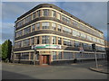 SO8376 : Former offices - Victoria Carpets, Green Street by Chris Allen