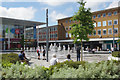 TQ2736 : Queens Square, Crawley by Stephen McKay