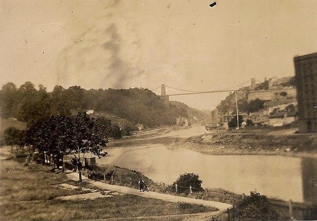 Clifton Suspension Bridge 1935