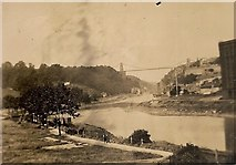 ST5673 : Clifton Suspension Bridge 1935 by WGS Powell