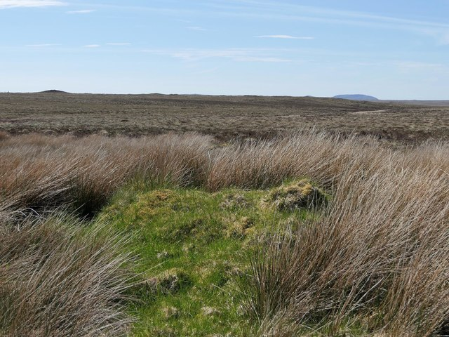 Site of shieling by Runndagro, Isle of Lewis