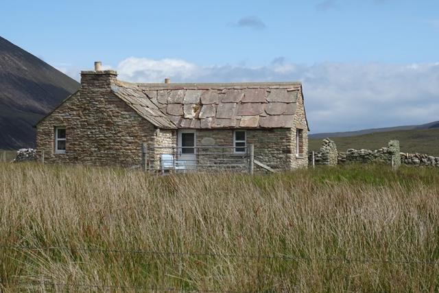 Restored Cottage by Anne Burgess