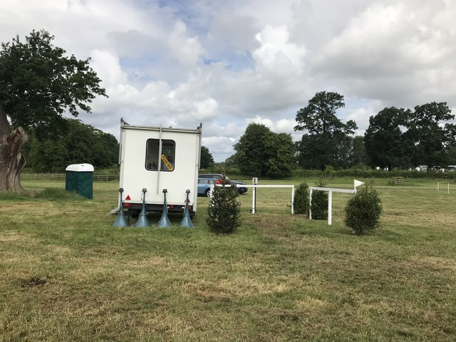 Cross-country start box at Catton Park