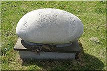 HY2304 : An Unusual Gravestone by Anne Burgess