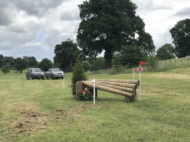 Cross-country fence at Catton Park