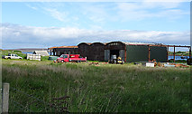 ND3094 : Dilapidated Sheds by Anne Burgess