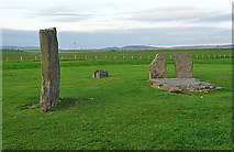 HY3012 : Standing Stones of Stenness by Anne Burgess