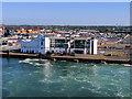 O2034 : Irish Ferries Terminal Building at the Port of Dublin by David Dixon