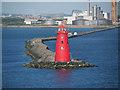 O2334 : Poolbeg Lighthouse by David Dixon