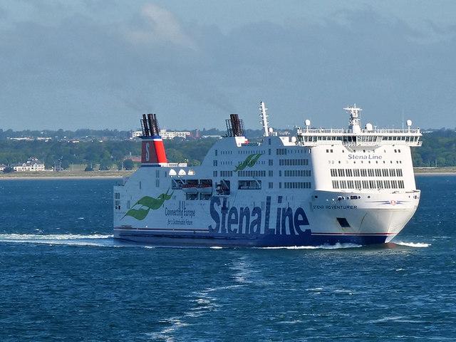Stena Adventurer in Dublin Bay