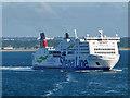 O2334 : Stena Adventurer in Dublin Bay by David Dixon