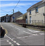 ST1599 : Francis Street, Bargoed by Jaggery