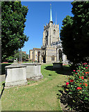 TL7006 : Chelmsford: in the cathedral churchyard by John Sutton