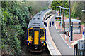NS2983 : Sprinter DMU stands at Helensburgh Upper Railway Station by Adam Forsyth
