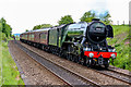 NT1772 : Flying Scotsman approaches Edinburgh Gateway Railway Station by Adam Forsyth