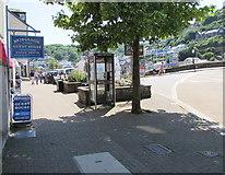 SX2553 : BT phonebox near Bridgeside Guest House, East Looe by Jaggery