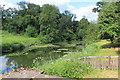 SP6837 : The Lake Beyond The Bridge by Des Blenkinsopp