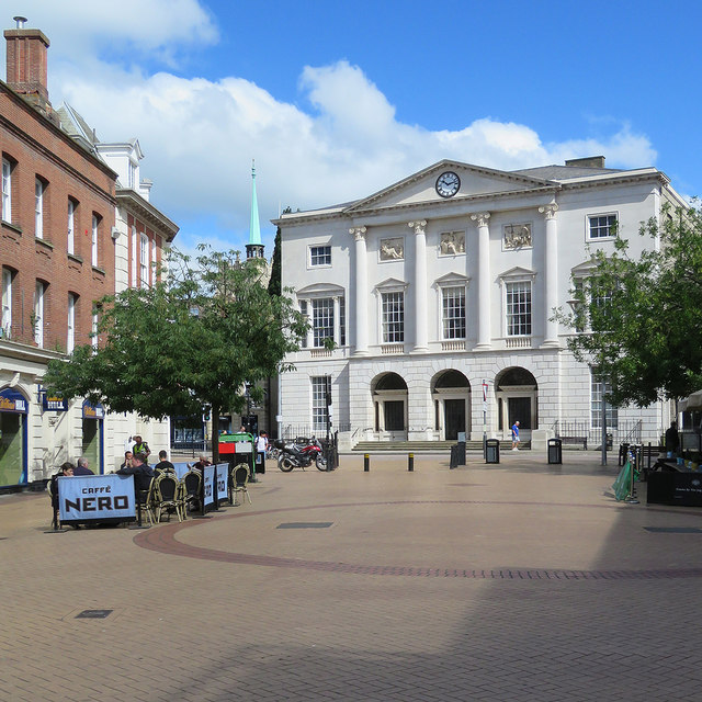 Chelmsford: High Street and Shire Hall