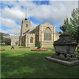 TL7006 : Chelmsford Cathedral on a summer morning by John Sutton