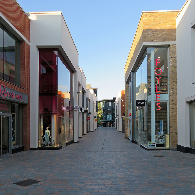Chelmsford: along Bond Street