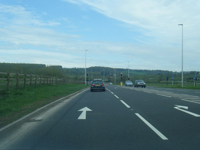 A4174 Ring Road west of Ashton Vale