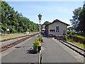SJ2107 : Welshpool & Llanfair Light Railway - Raven Square Station by Chris Allen