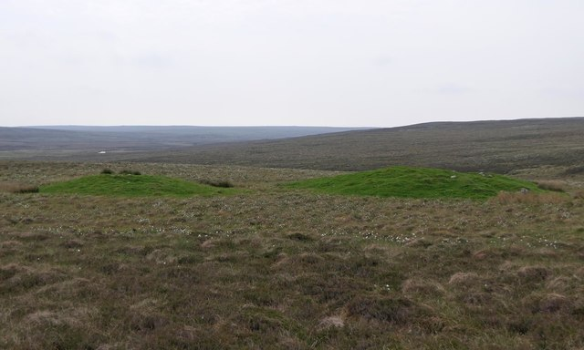 Shieling mounds, Aspelaid, Isle of Lewis