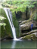 SD9163 : Janet's Foss, near Malham by pam fray
