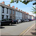 ST3187 : On-street parking, South Market Street, Newport by Jaggery