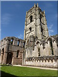 SE2768 : Fountains Abbey, North Yorkshire by pam fray