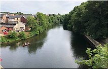NZ2742 : The River Wear from Elvet Bridge by Chris Thomas-Atkin