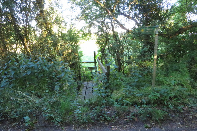 Footpath to Bainton