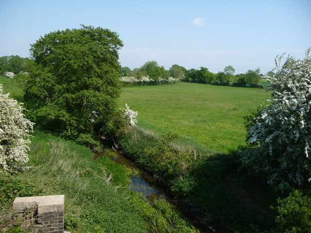 The River Tiffey, looking downstream [north]