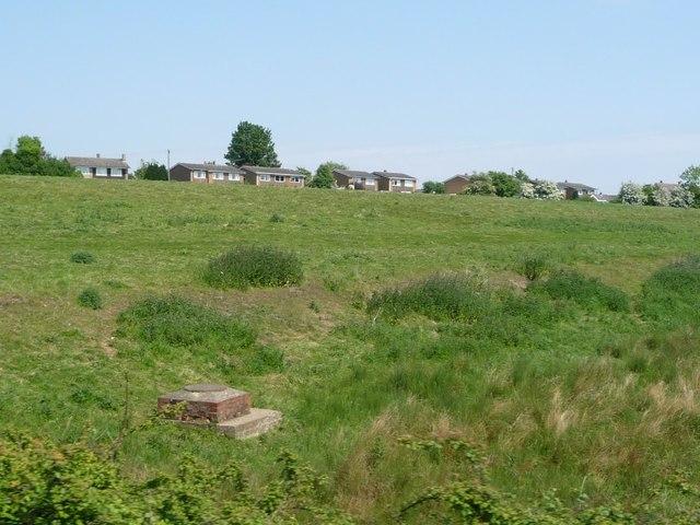 Drainage manhole, west of Chapel Lane, Wymondham