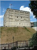 TG2308 : Norwich Castle from the south-west by Evelyn Simak