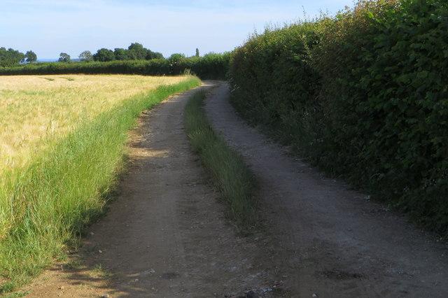 Bridleway towards Bucknell