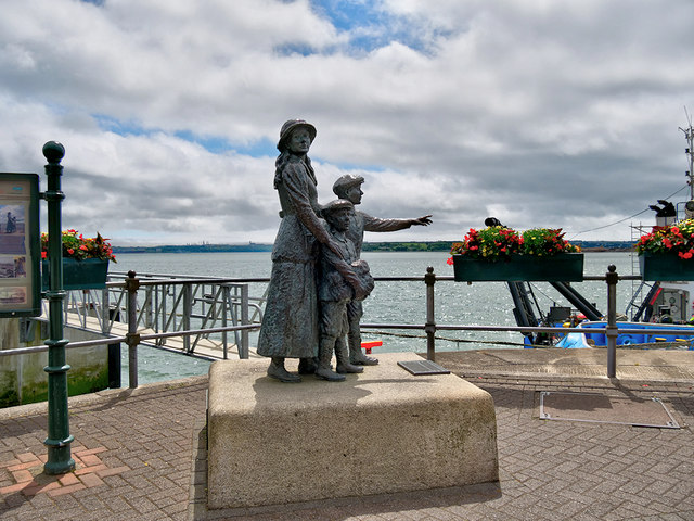 Annie Moore Monument