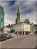 W7966 : Cobh, Casement Square by David Dixon