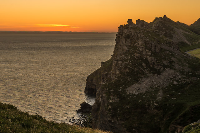 Castle Rock at dawn