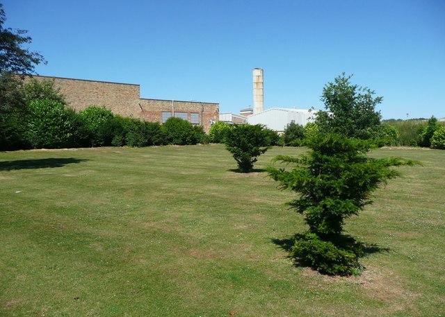 Industrial buildings in Wrest Park