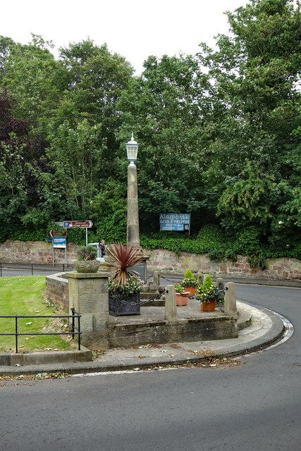 War Memorial, Alnmouth