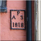 TG2308 : 33 Timberhill - parish boundary marker by Evelyn Simak