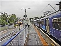 NS5567 : Hyndland railway station by Roger Cornfoot