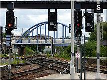 SK3635 : On Derby station platform by John Lucas