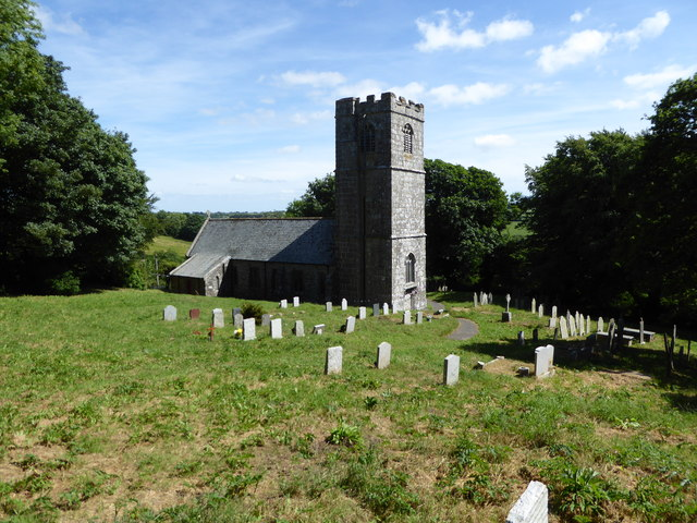 St Clether Church