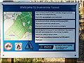 NH6938 : Inverernie Forest Boundary sign by valenta