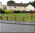ST1794 : Queen Elizabeth II postbox, Gelli Lane, Pontllanfraith by Jaggery